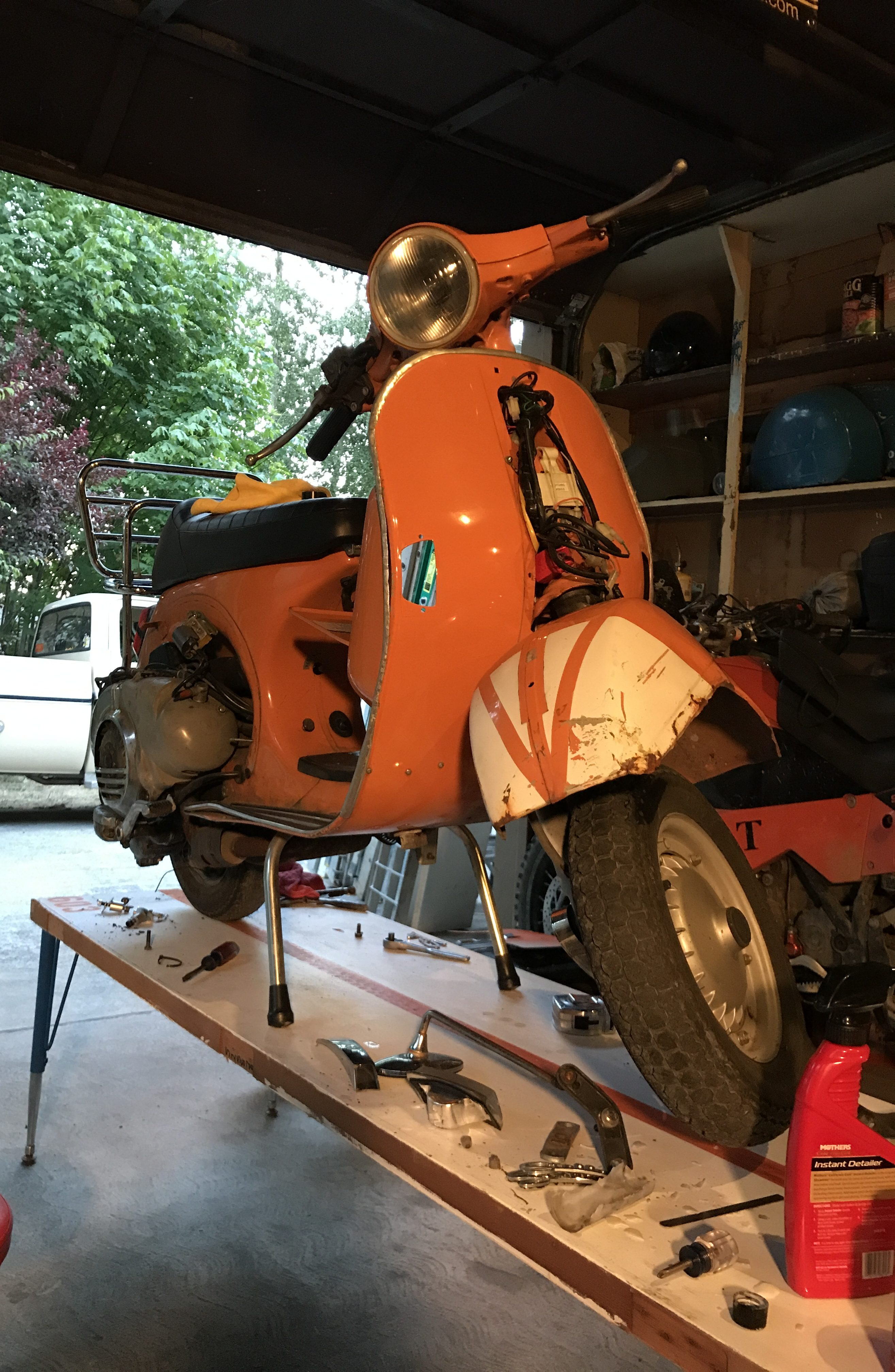 Building A Budget Scooter Service Bench A How To Guide